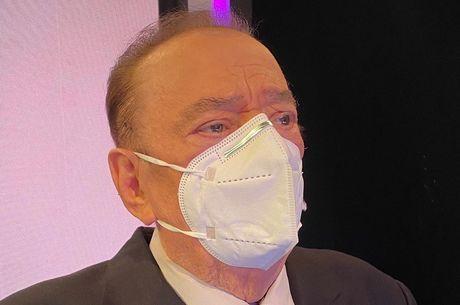 Comunicador usou máscara de proteção contra coronavírus
