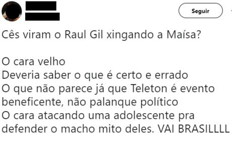 Internautas repercutiram declarações de Raul Gil
