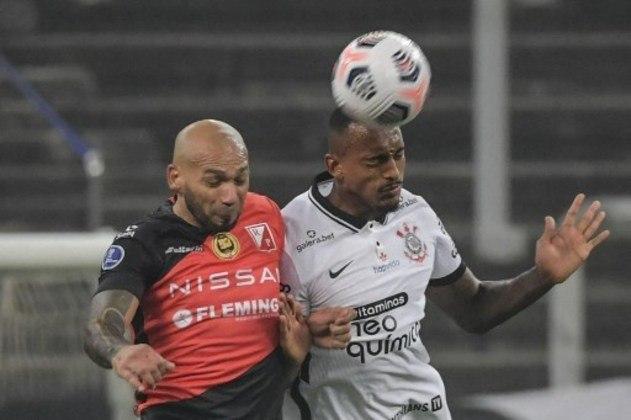 Raul Gustavo - Clube: Corinthians - Posição: zagueiro - Idade: 22 anos Jogos no Brasileirão 2021: 1 - Situação no clube: concorrência na posição.