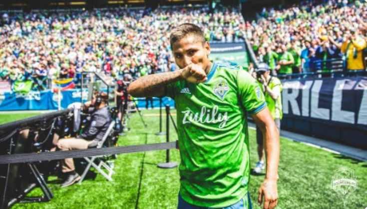 Raúl Ruidíaz (30 anos) - Clube: Seattle Sounders - Posição: atacante - Valor de mercado: 7,7 milhões de dólares.
