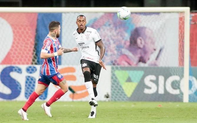Raul: zagueiro – brasileiro – 22 anos – clube atual: Corinthians – validade do contrato: dezembro de 2024 – atual valor de mercado: 50 mil euros