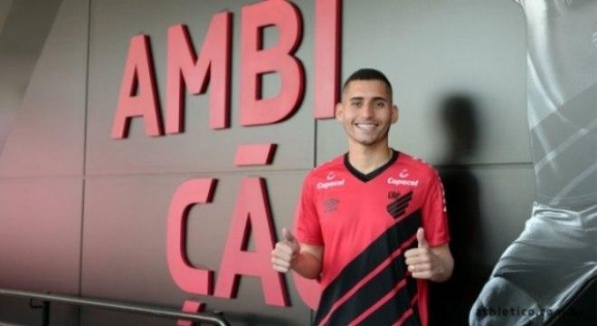 Ravanelli anunciado pelo Athletico-PR