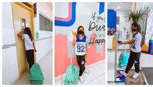 Rayssa volta à escola após prata em Tóquio: 'Fadas também estudam'