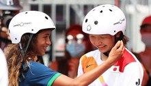 Rayssa Leal leva prêmio do COI por 'Espírito Olímpico' em Tóquio 2020