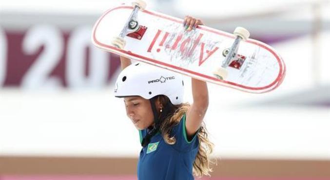 Vencedores nos esportes como Rayssa Leal, a Fadinha, atraem novos praticantes