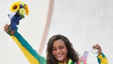 Rayssa Leal conquista a medalha de prata no skate street feminino