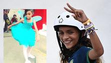 Rayssa virou 'Fadinha' aos 7 anos, após astro do skate viralizar vídeo