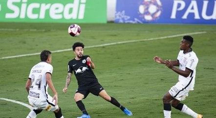 Corinthians estreou contra Bragantino