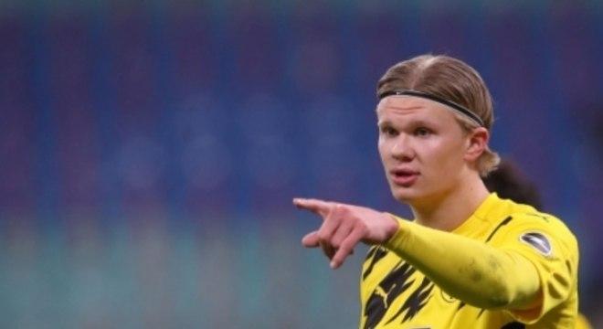 RB Leipzig x Borussia Dortmund - Haaland