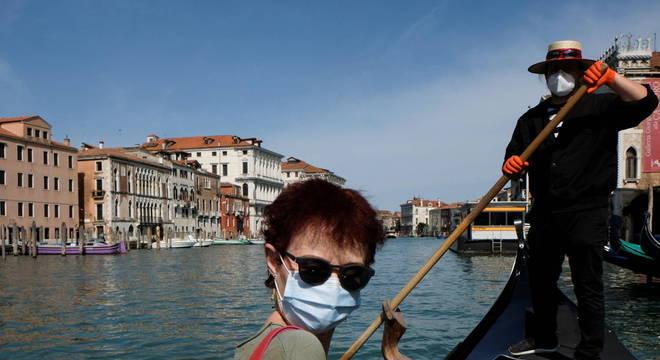 Cidade italianas já iniciaram o processo de reabertura