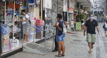 Comércio do Rio reabriu em junho de 2020