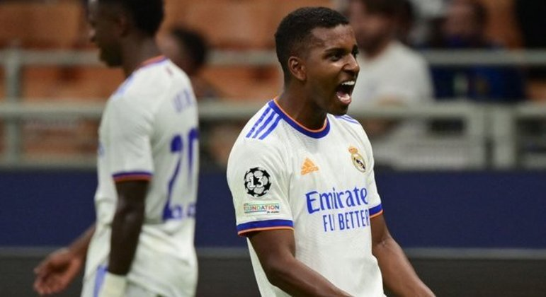 Rodrygo, do Real Madrid