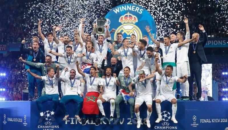 eab7ea5f7 ... O Real Madrid conseguiu um feito histórico ao final da temporada 2017  2018  ...