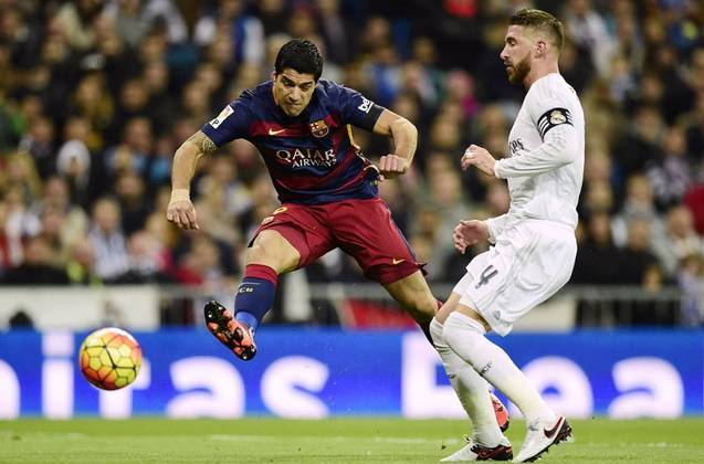 Real Madrid 0 x 4 Barcelona - 21 de novembro de 2015 - Campeonato Espanhol - Estádio Santiago Bernabéu