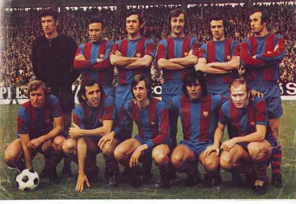 Real Madrid 0 x 5 Barcelona - 17 de fevereiro de 1974 - Campeonato Espanhol - Estádio Santiago Bernabéu