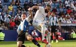 Fechando as zebras do fim de semana, após a derrota histórica no meio da semana para o Sheriff, pela Champions League, o Real Madrid visitou o Espanyol e também foi derrotado. O time de Barcelona venceu os merengues por 2 a 1Estagiário do R7*, sob supervisão de Pietro Otsuka