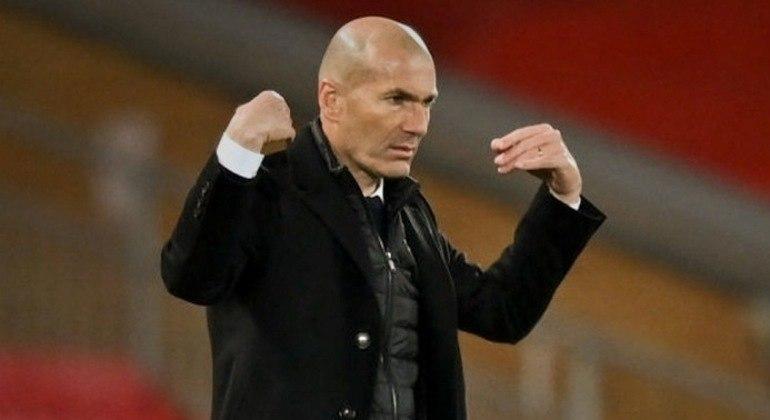 Zizou Zidane, o empate de 0 X 0 e a classificação