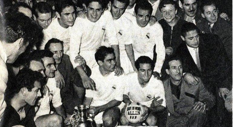 """Real Madrid, o ganhador da primeira edição da """"Champions"""""""