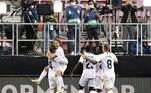 O gol de Modric, que substituiu Valverde, foi o ponto alto do jogo. Após dividida do goleiro Neto com Vinícius Jr., na entrada da área, ele recebeu de Rodrygo, driblou Neto e tocou de trivela, marcando um golaço, no último minuto do tempo regulamentar