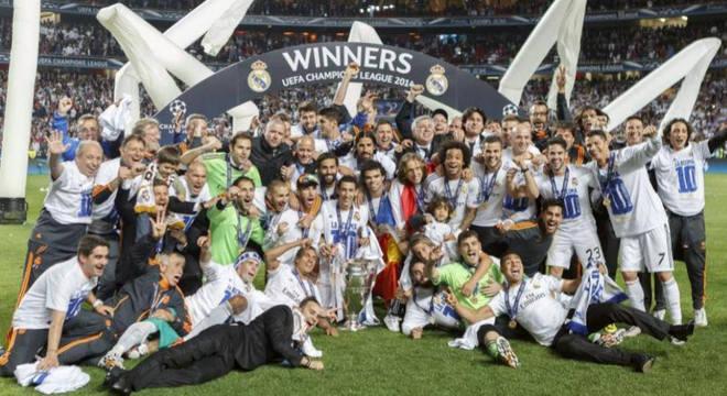 O Real Madrid, campeão de 2014