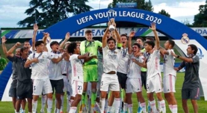 Real Madrid campeão da Liga dos Campeões sub-19