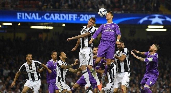 Na final de 2017, vitória do Real por 4 a 1 diante da Juve