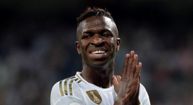 Vinícius Jr pouco tem atuado no Real Madrid
