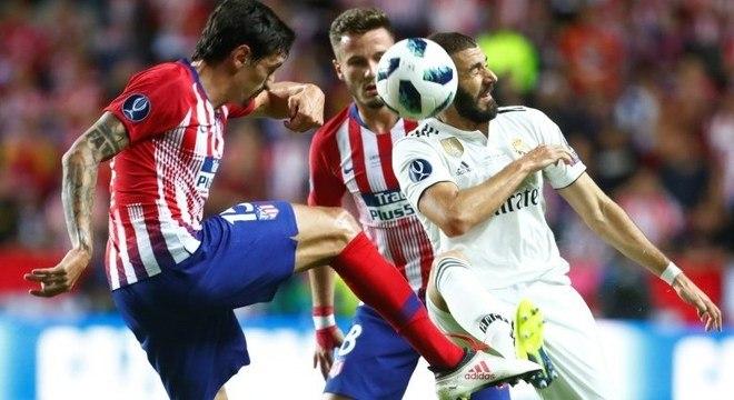 Atlético de Madri aproveitou oportunidades e venceu Real Madrid na  prorrogação a25e4a6643a88