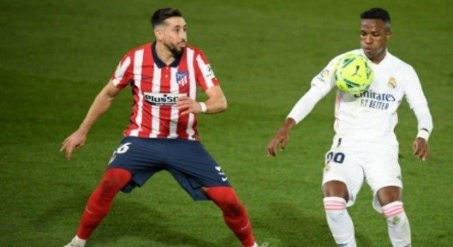 Real Madrid x Atlético de Madrid - Vinícius