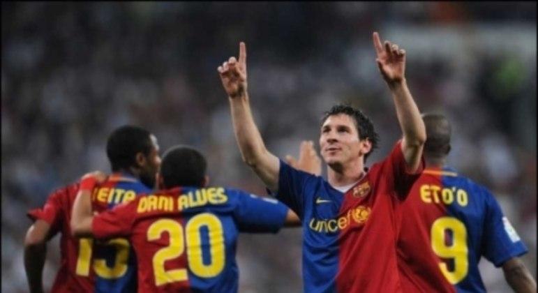 Real Madrid x Barcelona (2009) - Messi