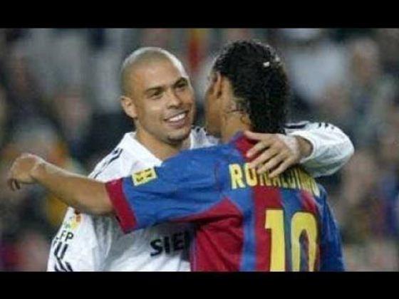 Real Madrid x Barcelona - temporada 2004/05 (sábado, 18h, ESPN Brasil)- Relembre um dos superclássicos mais eletrizantes deste século, com gols de Ronaldo e de Ronaldinho e vários momentos inesquecíveis.