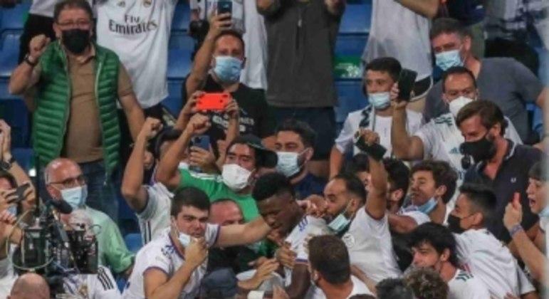 Real Madrid x Celta de Vigo - Vini Jr.