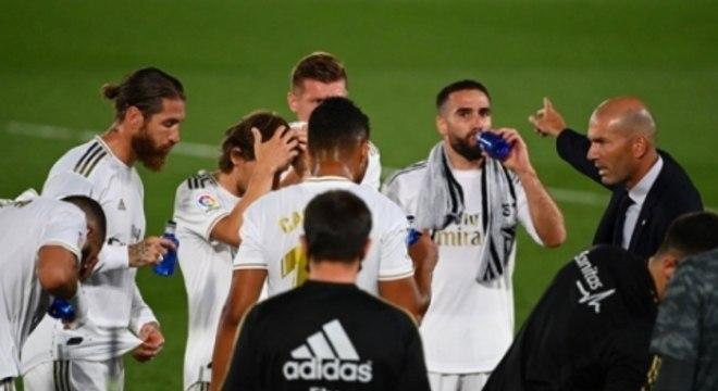 Real Madrid x Getafe - Disputa