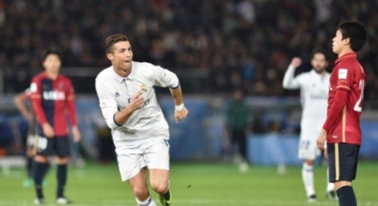 Real Madrid x Kashima Antlers - Cristiano Ronaldo