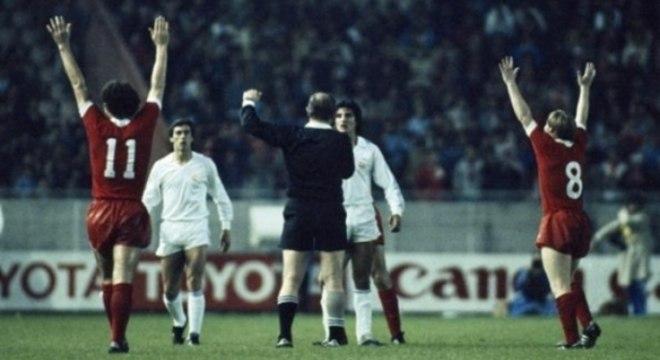 O Liverpool chegou ao 3º título da Champions com a vitória sobre o Real, em 1981