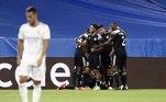 O time da Moldávia abriu o placar logo no primeiro tempo. A partida foi cheia de faltas e seis cartões amarelos distribuídos. O Real empatou com um gol de pênalti de Benzema. O segundo gol dos moldávios saiu nos acréscimos do segundo tempo
