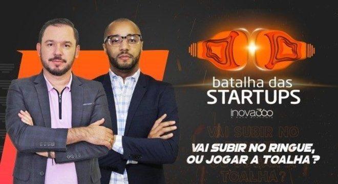 Reality Show Batalha das Startups na Record News (Imagem: Divulgação)