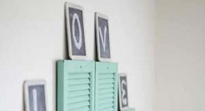 Reaproveite a estrutura de uma porta antiga e crie uma cabeceira