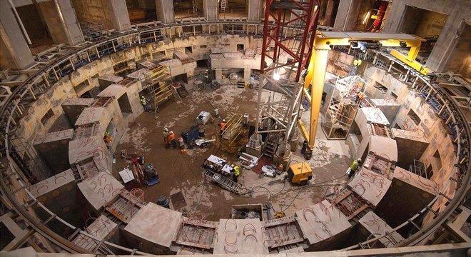 O reator de fusão nuclear Iter não será concluído até 2025