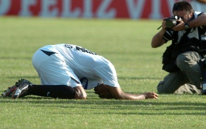 Rebaixado em 2007, o Corinthians sofreu sua primeira e única queda na era dos pontos corridos do Brasileirão