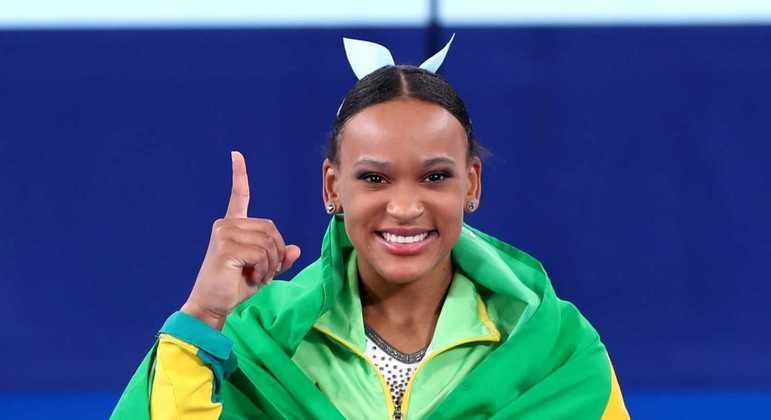 Rebeca Andrade, a número uim