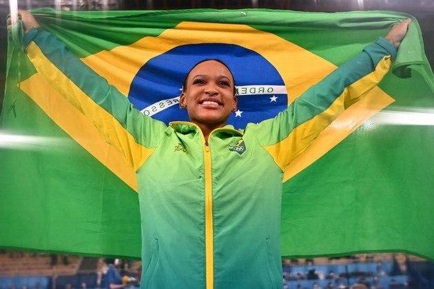 Rebeca Andrade: Com um ouro e uma prata em Tóquio e apenas 22 anos, a ginasta é uma das grandes esperanças para os Jogos de Paris, em 2024