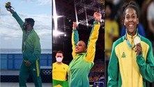Rebeca entra em seleta lista de medalhistas de ouro do Brasil nas Olimpíadas. Veja os 32 campeões!