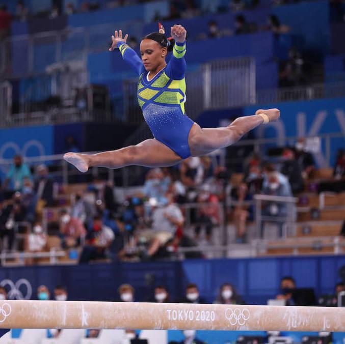 Rebeca Andrade primeira medalha da ginástica feminina do Brasil em Olimpíadas