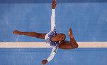 Rebeca Andrade brilha na ginástica da Olimpíada de Tóquio