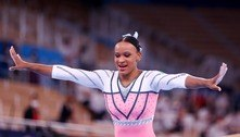 Rebeca Andrade esconde salto em treinos e festeja o ouro em Tóquio