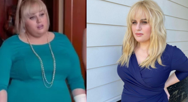 Desde 2019, atriz vem documentando perda de peso nas redes sociais