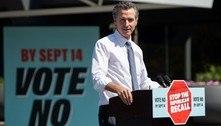 Califórnia vota a favor da permanência do governador