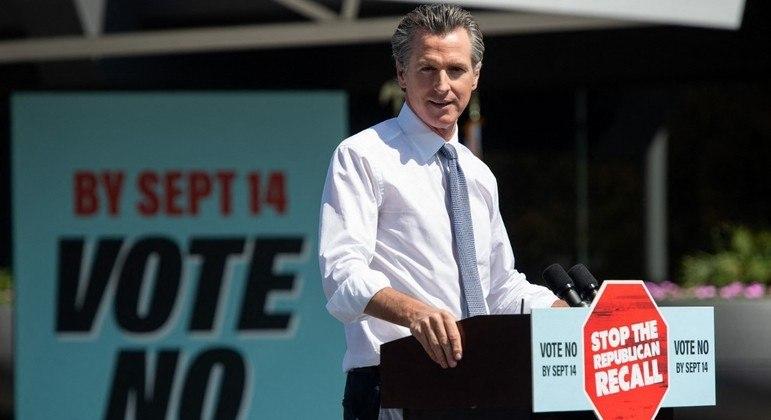 Governador da Califórnia, Gavin Newson