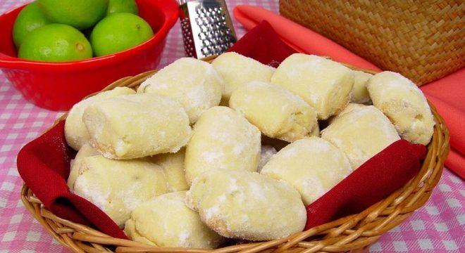 receitas de biscoitos doces